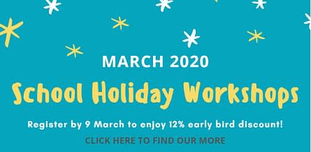 March 2020 holiday writing workshops