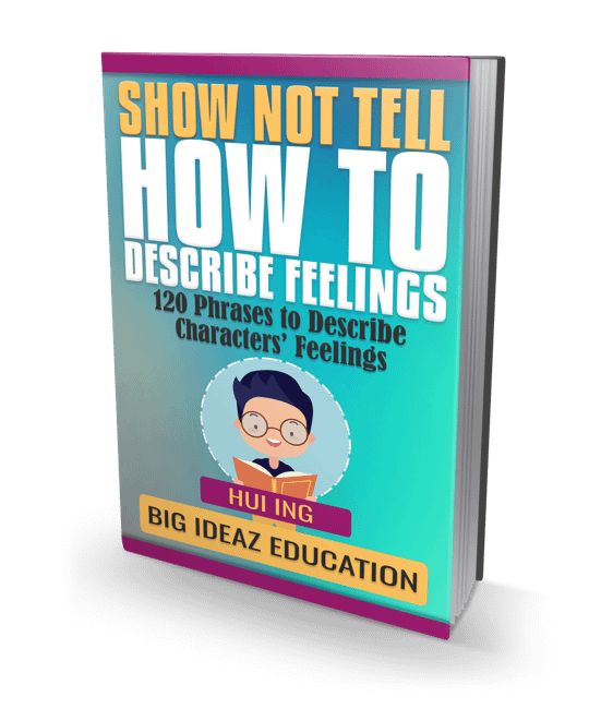show not tell phrases to describe feelings