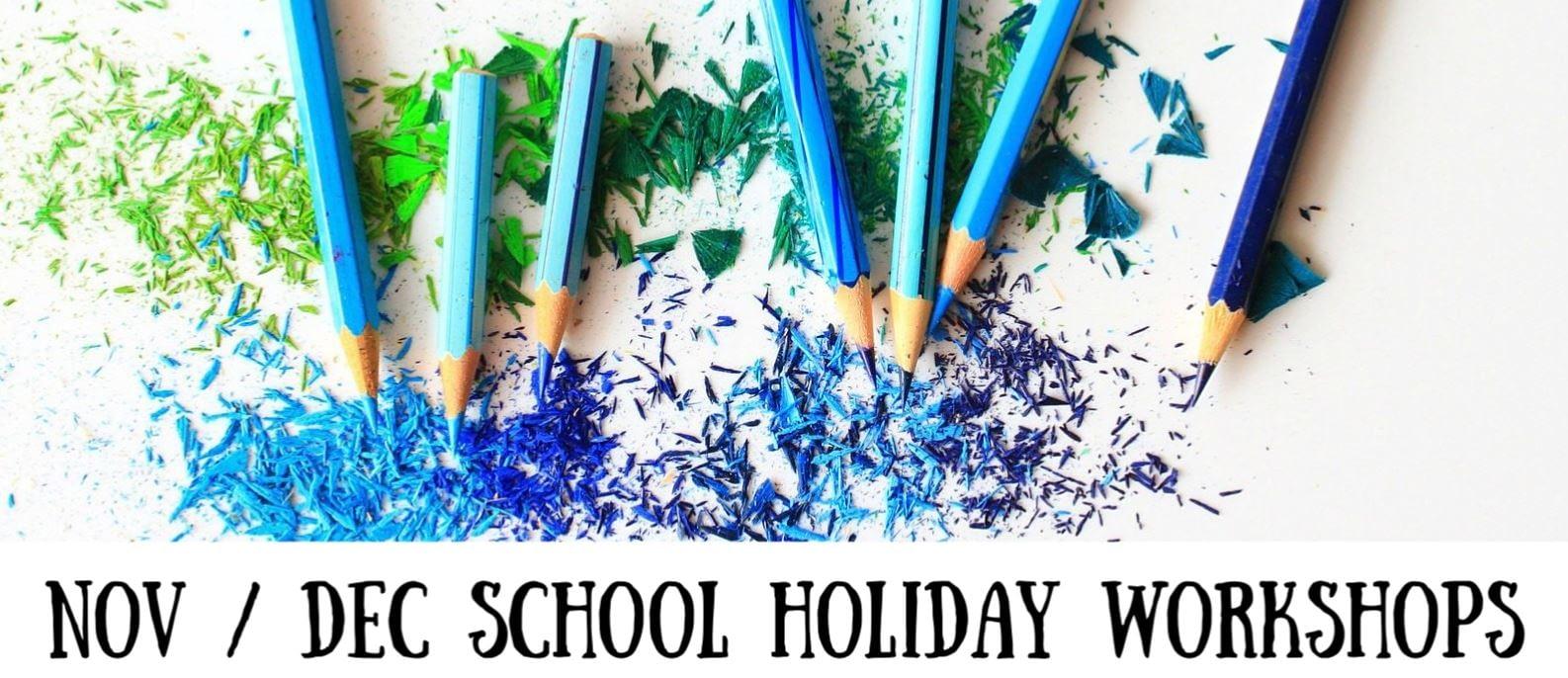 Nov Dec school holiday workshops