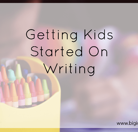 Get Kids To Start Writing
