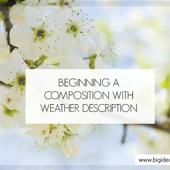 Begin Compo weather descriptions