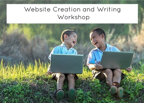 website creation for kids workshop