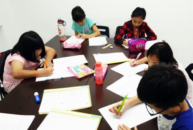 creative writing classes for primary school